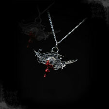 Necklace Collier Arcana XIII Bleeding Eye of Treachery Blood Gothic Gothique
