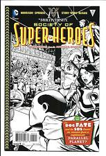 MULTIVERSITY: SOCIETY OF SUPER-HEROES # 1 (1:10 Chris Sprouse B/W Variant), NM