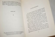 RIMBAUD OU LE GENIE IMPATIENT MONDOR EDITION ORIGINALE  HOLLANDE JEANCOLAS 1955
