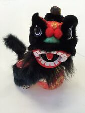 BOUNCING CHINESE NEW YEAR LION DRAGON HEAD DANCE BLACK