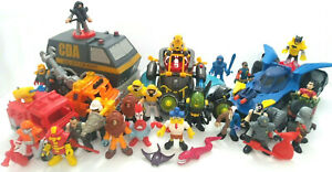 Fisher-Price Imaginext Figure Vehicle Lot Batman SpongeBob City Submarine