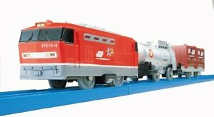 ya07746 Takara Tomy S-39 EF510 Red Thunder Tomica PlaRail Model Train from Japan