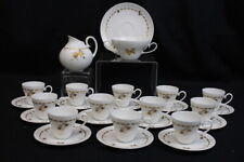 27 Pc ROSENTHAL Hand-Painted Gold Studio-Linie 3508 Demitasse Coffee Set MINT