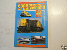 ALL ABOUT RAILWAYS 1989 SPOORWEGEN TGV,TALGO,OBB,BRITISH RAIL,DB,NMBS,NS,SBB,