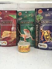 Hikari Herptile Reptile 4 X Ready to Eat Gels & Cricket Dragons Geckos Iguanas
