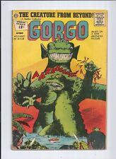 Gorgo #9 FN (6.0) (Charlton, 1962) Horror/Sci-Fi! Silver Age!