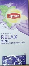 Lipton, Relax Mint Herbal Tea - 20 Tea Bags