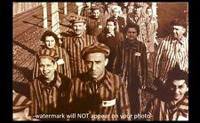 German Concentration Camp PHOTO Military World War II, Prisoners Prison Stripes