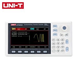 Uni-T Function Arbitrary Waveform Generator 2CH 30MHz Signal Source Frequency Me