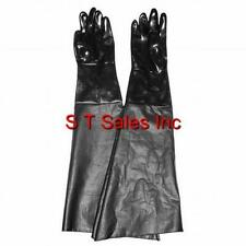 """REPLACES EMPIRE ABRASIVE SAND BLAST CABINET GLOVES 509851 8"""" X 28"""" PAIR"""