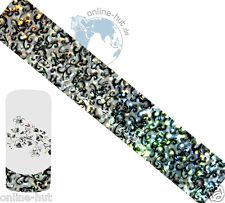 Transferfolie Ranke-Hintergrund Silber-Irisierend, Nageldesign, Nail, Nr.TRF-207