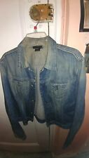 Preowned women's Diesel Jean Jacket size XL Slim fit