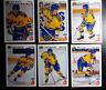 1991-92 Upper Deck UD Team Sweden Team Set of 6 Hockey Cards