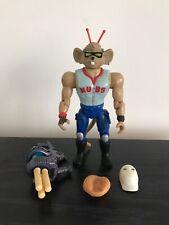 Biker Mice From Mars Sports Bros Home Run Throttle Action Figure 1994