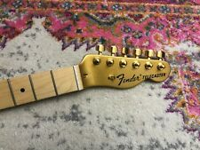 2017 Fender American FSR Telecaster Aztec Gold LOADED NECK - Maple! Made in USA!