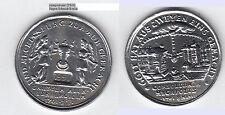 Zinn-Med. 1991 Hamburger Vergleich 1701 Mecklenburg-Schwerin ca. 18,25 g