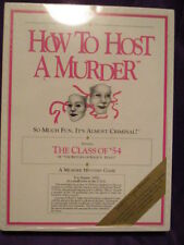 HOW TO HOST A MURDER Game THE CLASS OF '54  Vincent Price Murder Mystery NIB '87