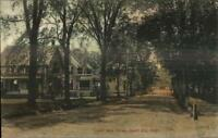 Jewett City CT Homes on Lower Main St. c1910 Postcard