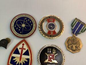 4 RARE WSMR White Sands Missile Range NASA Medic CSM Challenge Coin