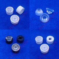 10pcs ~100pcs 30 degree PMMA Sand surface Lens f 1W 3W LED Lamp Spot Light Bulb