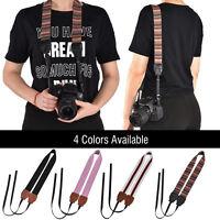 Universal Vintage Camera Shoulder Neck Belt Strap For Canon Nikon Sony SLR DSLR