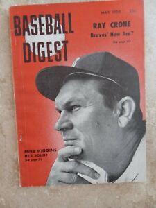 Boston Red Sox Mike Higgins Baseball Digest 1956