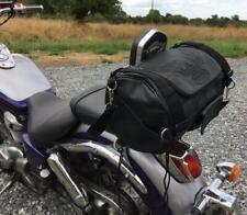 Sac Rool Bag en Cuir pour sissi-bar motif Aigle Moto custom harley virago VN