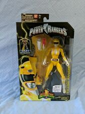POWER RANGERS Yellow Ranger Legacy Collection Figure 6.5 MMPR Saban Bandai NEW
