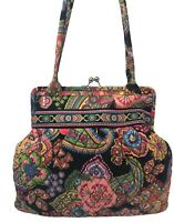 VERA BRADLEY Alice Kisslock Shoulder Bag in SYMPHONY IN HUE Retired!