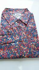 Size 16 Liberty print Tana Lawn Thomas & Jonathan l/s classic shirt blouse ID237