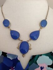 Chalcedony 925 Sterling Silver Overlay Necklace
