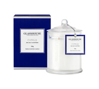 NEW Glasshouse Cyprus Sea Salt & Saffron Triple Scented Candle 350g Handmade