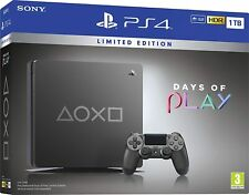Sony PlayStation 4 Slim Days of Play Limited Edition 1TB Video Game Console -...