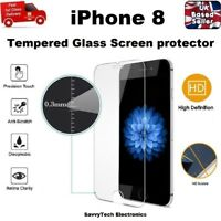 Anti Scratched Shattered Proof Tempered Glass Screen Saver 9H For Apple iPhone 8