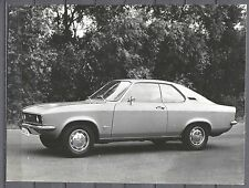 PRESS - FOTO/PHOTO/PICTURE - Opel Manta 1970
