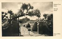 VINTAGE OFFICIAL HAMPTON COURT SUNKEN GARDEN POSTCARD - Ministry of Works UNUSED
