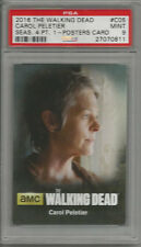 2016 The Walking Dead Carol Peletier Season 4 Pt. 1 PSA 9 Poster Card