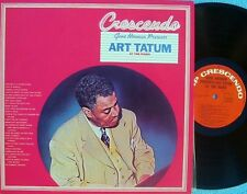 Art Tatum ORIG OZ 2LP Gene Norman presents NM '75 Cresendo Jazz stride piano
