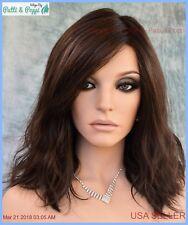 AVALON Estetica Wig Lace Front/Part Beachy Waves R4/6 Dark Chestnut Brown