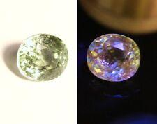 1.26ct Merelani Mint Grossular Garnet - Rare Near Colourless Leuco Garnet
