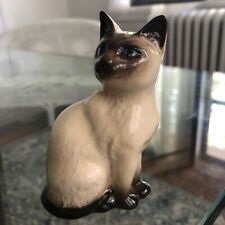 Royal Doulton Siamese Cat Kitten Figurine #1887 Crown England