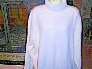 NWT Jessica Holbrook Angora , Lambswool Sweater Off White  Color   Size 3 X