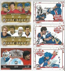 KORDIC NILAN ODELEIN CORSON CANADIENS 2011-12 ENFORCERS TOUGH FRANCHISE #3