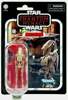 "Star Wars Vintage Collection BATTLE DROID 3.75"" Inch Kenner FIGURE VC 78 In Hand"