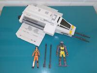 Lot vaisseau et figurines star wars Rebels HASBRO 2014 The Phantom Attack Shut