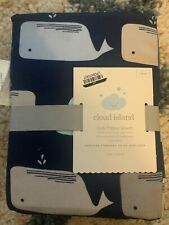 New ListingCloud Island Fitted Crib Sheet Whales nursery bedding new #28991