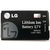 LG 430A Rhythm AX585 CE110 GS170 420g Invision CB630 UX585 OEM Battery Lgip-430a