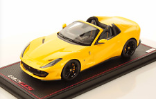 1/18 MR Collection Ferrari 812 GTS Spider Tristrato Yellow  Leather IN STOCK