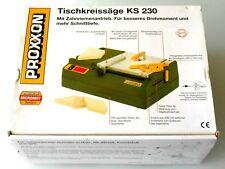 Proxxon Tischsäge,Kreissäge KS 230 # OVP-TOP # NEUWERTIG
