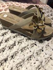 Ladies Size 36 Wedge Sandals Uk Size 3
